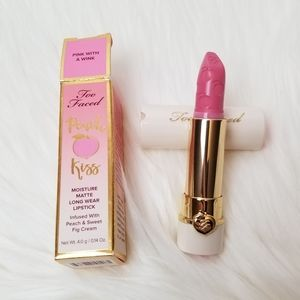 TOO FACED Peach Kiss Lipstick Pink With a Wink
